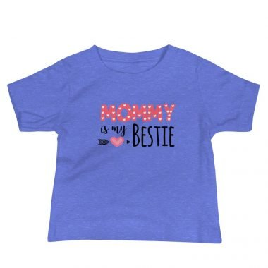 baby premium tee heather columbia blue front 606609a795f1a