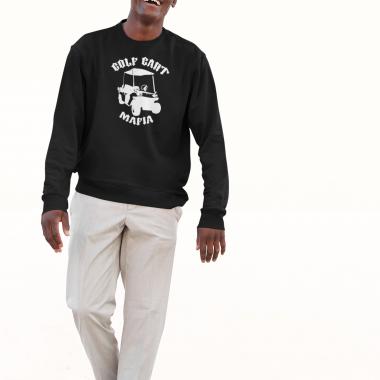 sweatshirt mockup of a man with a golf style 38844 r el2