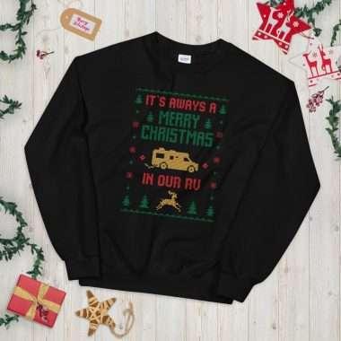 unisex crew neck sweatshirt black 5fcd5c286f2ed