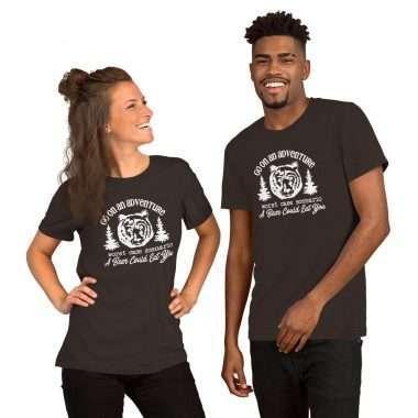 unisex premium t shirt brown front 60a30488889b2
