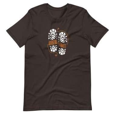 unisex premium t shirt brown front 60a305dd3f6f1