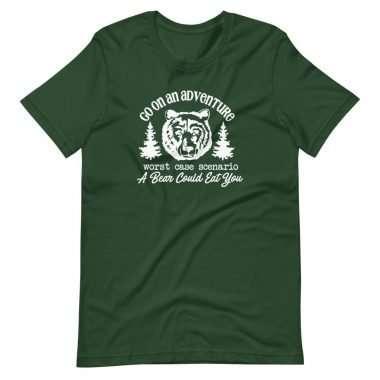 unisex premium t shirt forest front 60a30488880de