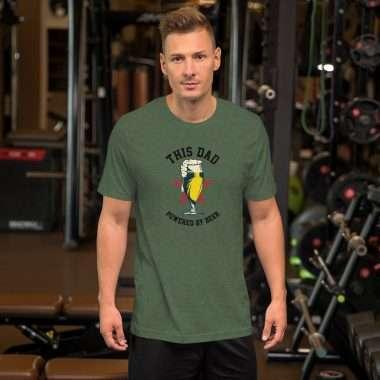 unisex premium t shirt heather forest front 60b11a094d1af