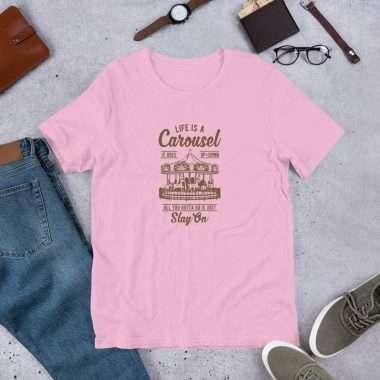 unisex premium t shirt lilac front 60932e49be7cd