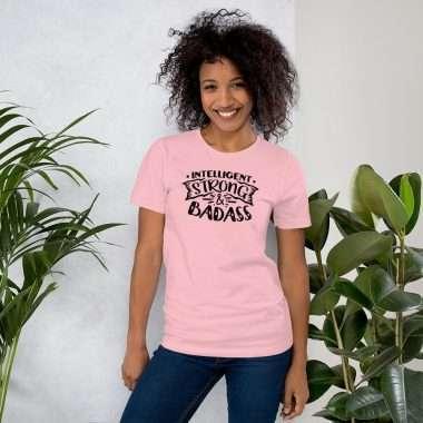 unisex premium t shirt pink front 604599c6e1620