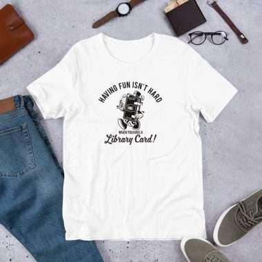 unisex premium t shirt white front 603adf12c7c26