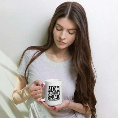 white glossy mug 15oz woman 606605515c705