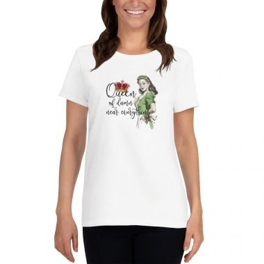 womens loose crew neck tee white front 604590d37a60f